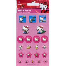 22 autocollants Hello Kitty...