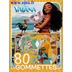 Vaiana 80 gommettes