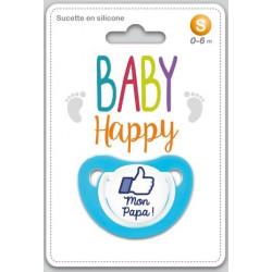 Baby Happy Sucette bleue...