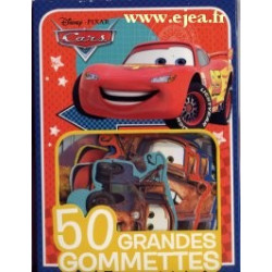Cars 50 grandes gommettes