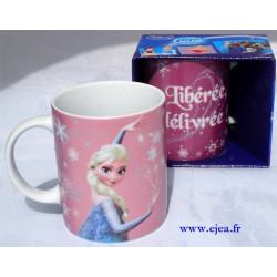 Mug Elsa Libérée, délivrée
