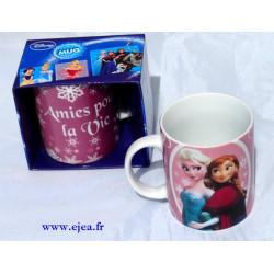 Mug Elsa et Anna