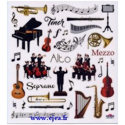 Stickers Classy Orchestre