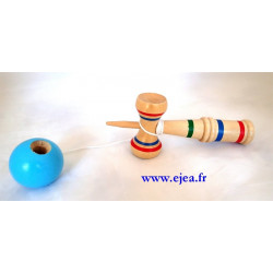Bilboquet en bois traditionnel