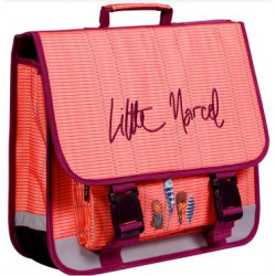 Cartable Little Marcel Plumes