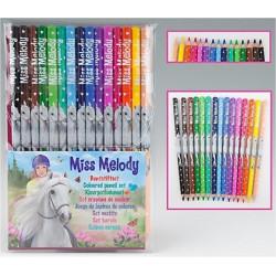 Miss Melody 15 crayons de...