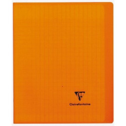 Cahier Kover Book orange...
