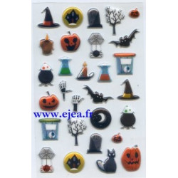 Stickers Cooky Halloween