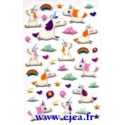 Stickers Cooky Licornes