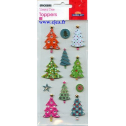 Stickers Toppers Sapins