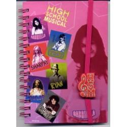 Carnet A6 High School musical