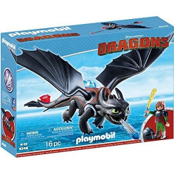 Playmobil Dragons Harold et...