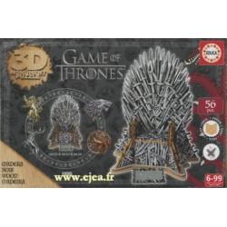 Puzzle 3D Game of Thrones