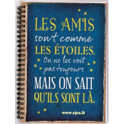 Carnet A5 Vintage Art Les Amis
