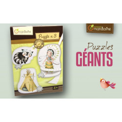 3 Puzzles géants Indiens