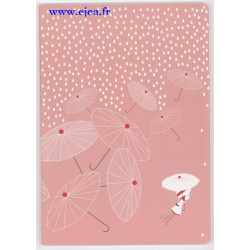 Nina Cahier A4 rose
