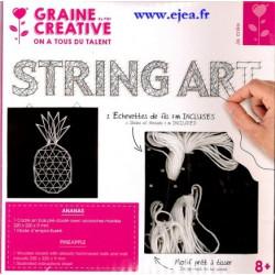 String Art Ananas Kit complet