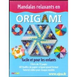 Mandalas relaxants en Origami