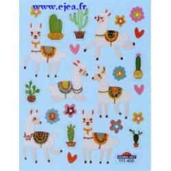 Stickers Mini Classy Lamas...