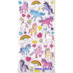Stickers TWEENY Licornes
