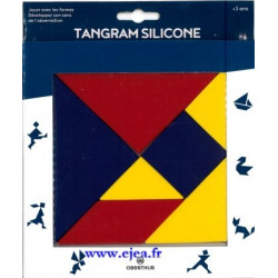 Tangram en silicone