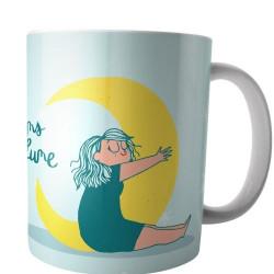 Mug Mathou Dans la lune