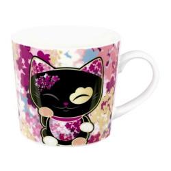 Mug Mani The Lucky Cat Noir