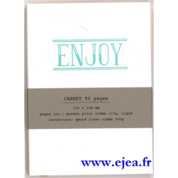 Carnet A6 LetterPress Enjoy
