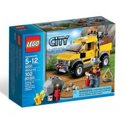 Lego City Le 4x4 de la mine
