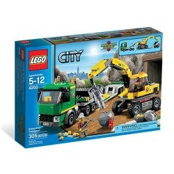 Lego City Le transporteur
