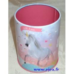 Licorne Pot à crayon