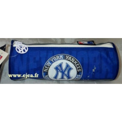 Trousse ronde Yankees bleu
