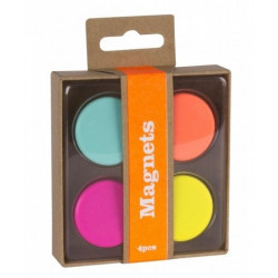 Magnets Fluor Happy Office