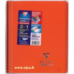 Cahier Kover Book rouge...