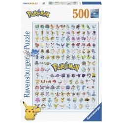 Puzzle Pokédex 500 pièces...