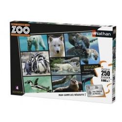 Puzzle Une Saison au zoo...