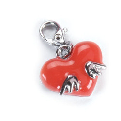 Charms&Charms Cœur rouge
