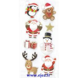Stickers Sceny Noël...