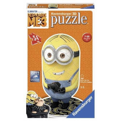 Puzzle 3D Minion Ravensburger