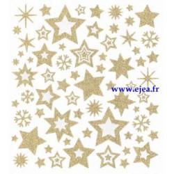 Stickers Classy Etoiles dorées
