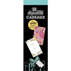 Bloc 50 Etiquettes cadeaux...