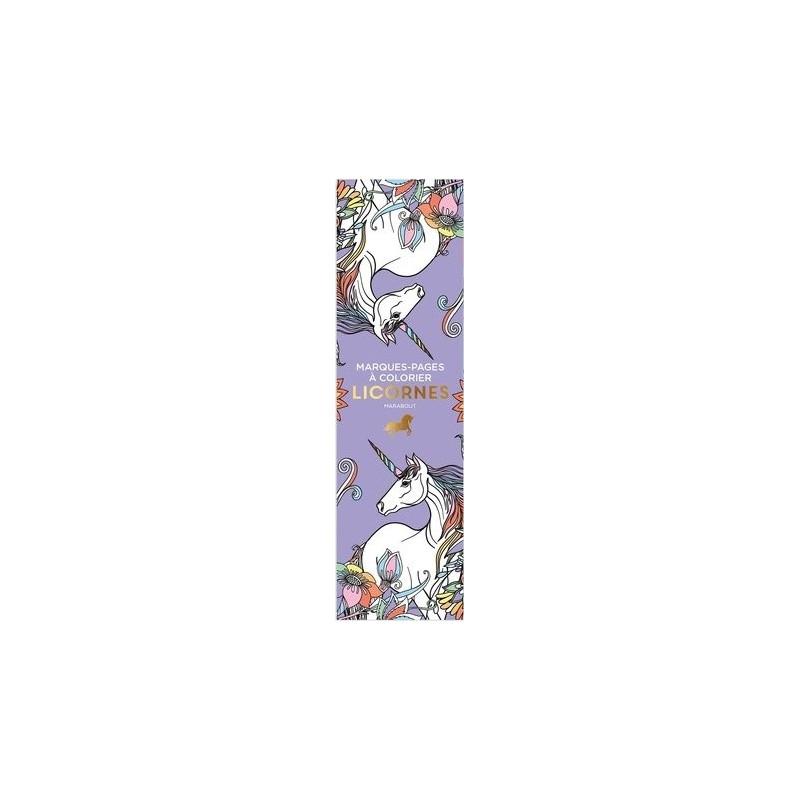 Licornes 50 Marque Pages à Colorier