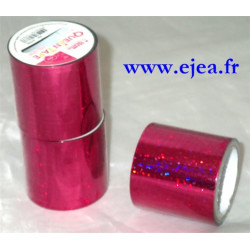Queen Tape Holographique Rose