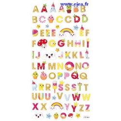 Stickers TWEENY ABC Kawaï