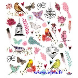 Stickers Classy Oiseaux et...