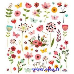 Stickers Classy Fleurs