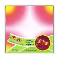 Papier origami couleurs...