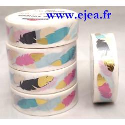Masking tape Plumes