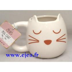 Mug Chat avec oreilles