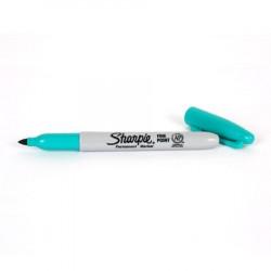 Marqueur Sharpie Bleu-vert